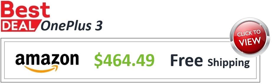 Amazon Deal OnePlus 3