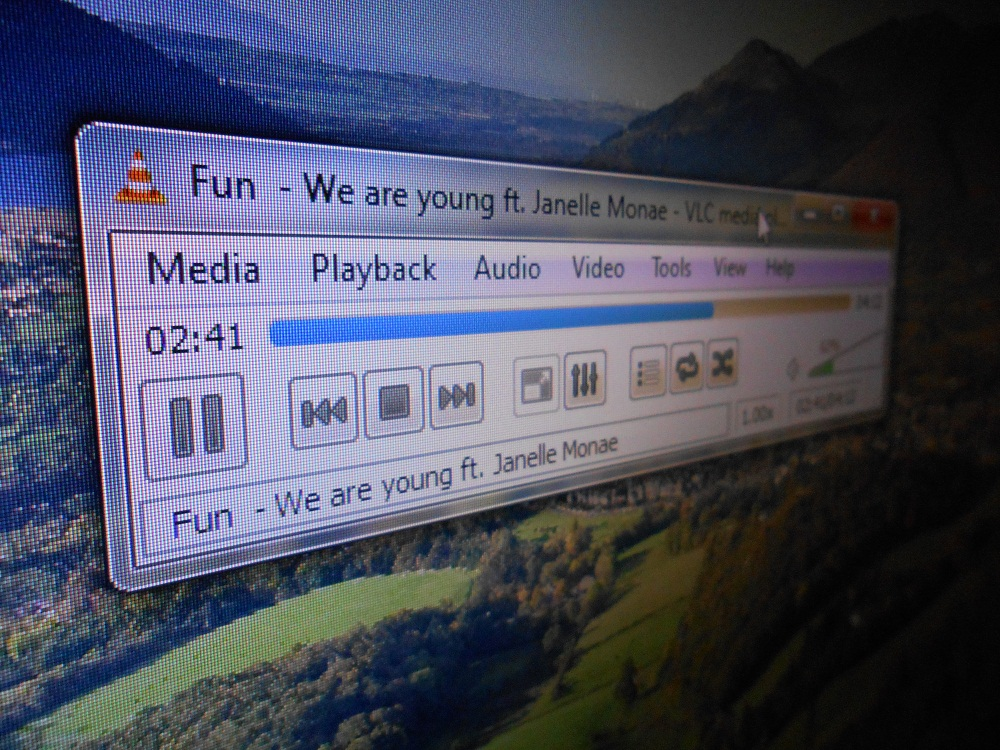 VLC Media Player in win 7