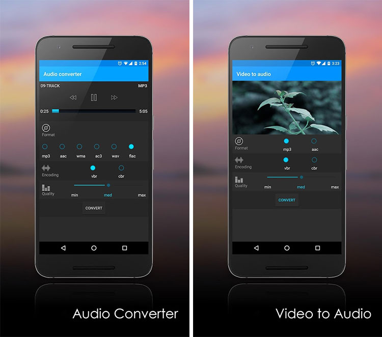 MP3 Converter android app