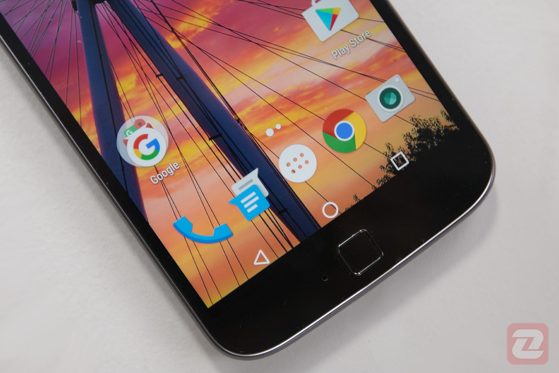 Moto G4 Plus - Fingerprint Sensor