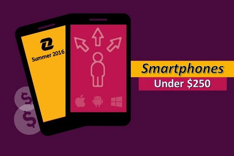 Best Smartphones 2016 Under 250