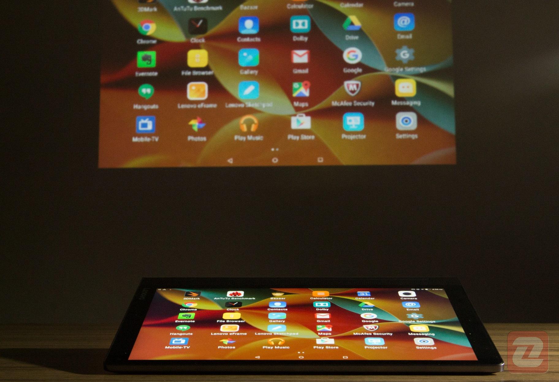 Yoga Tab 3 Pro - Projector
