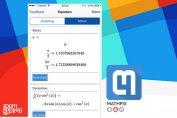 Mathpix app