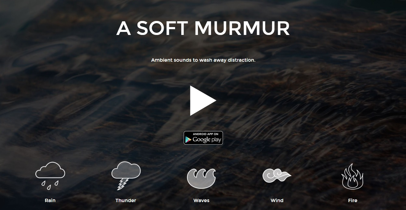 A soft Murmur Website