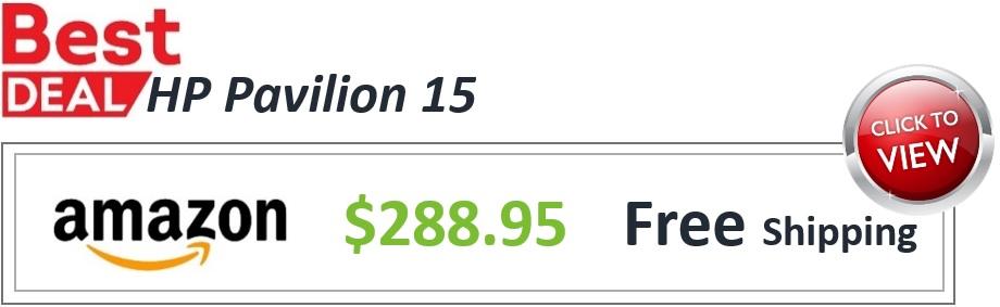 HP Pavilion 15 Deal