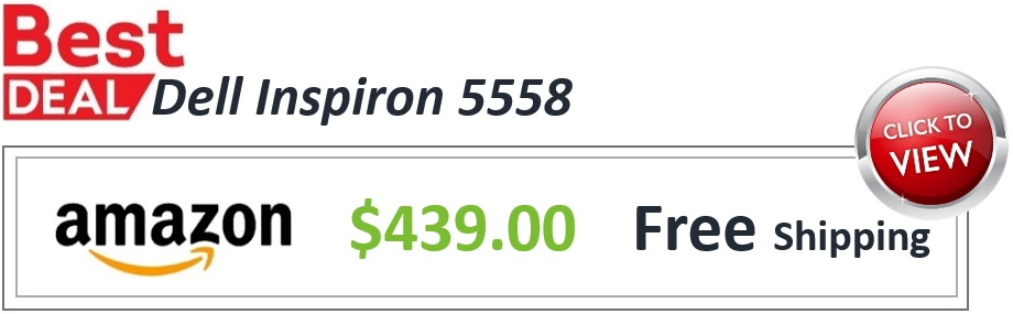 Inspiron 5558 Deal