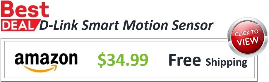 Smart Motion Sensor Deal