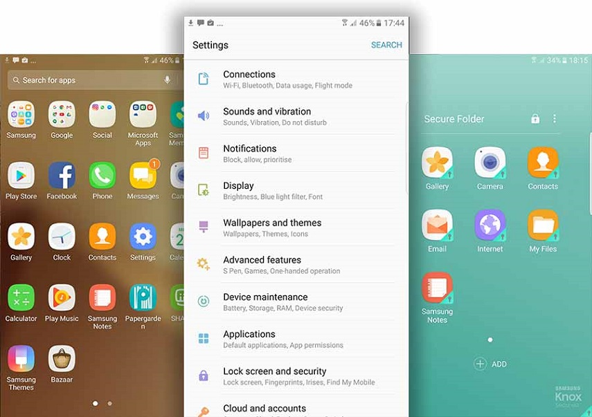 Galaxy Note 7 - Software