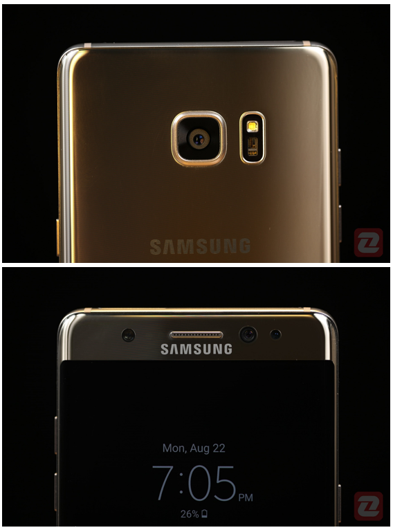 Galaxy Note 7 - Front and Back