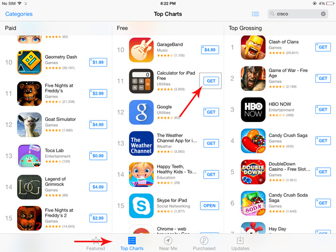 Top Charts Apple