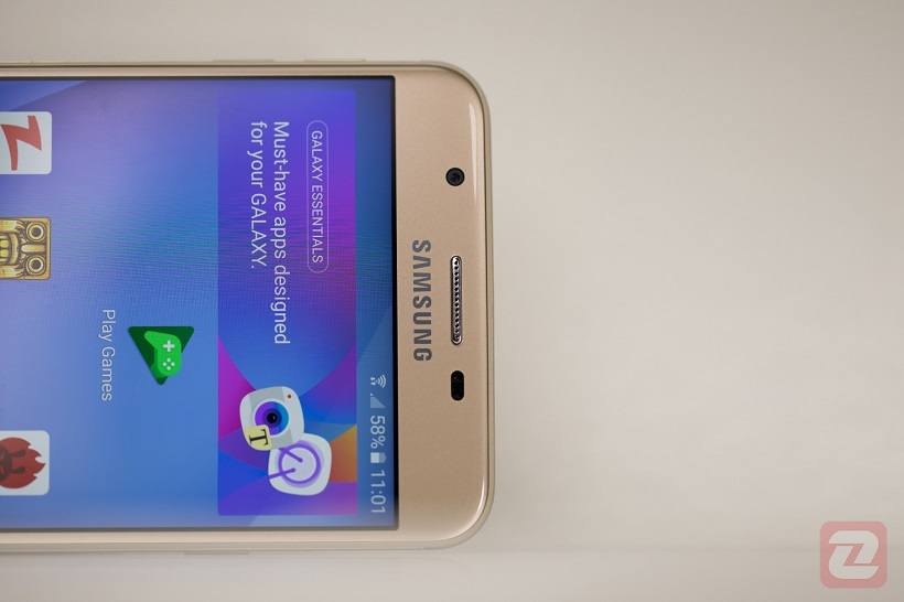 Galaxy J7 Prime Design