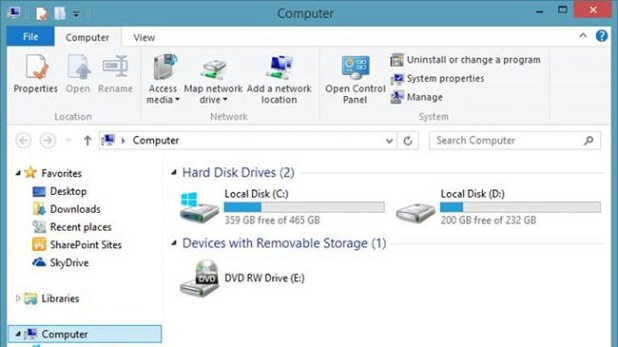 Windows 10 Disk Space