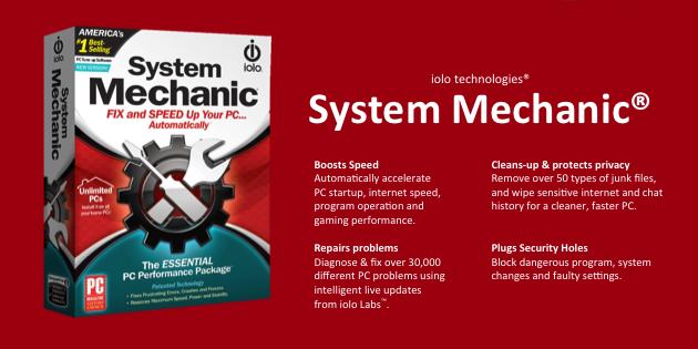 System Mechanic Performance