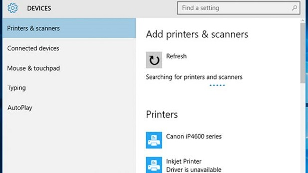 Windows 10 Printer Installation Issue