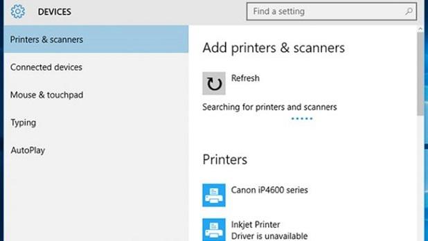 Windows 10 Printer Installation Issue