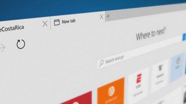 Windows 10 Edge Browser