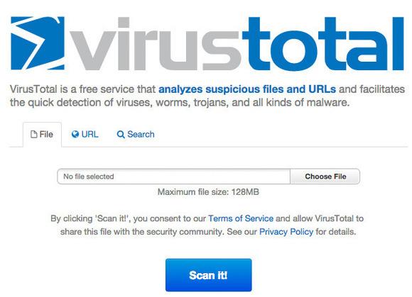 Virus Total Online