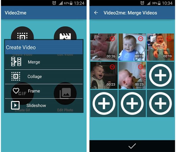 Video2me app