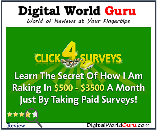 is CLICK 4 SURVEYS scam