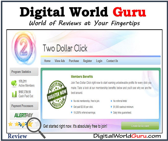 is two dollar click a scam