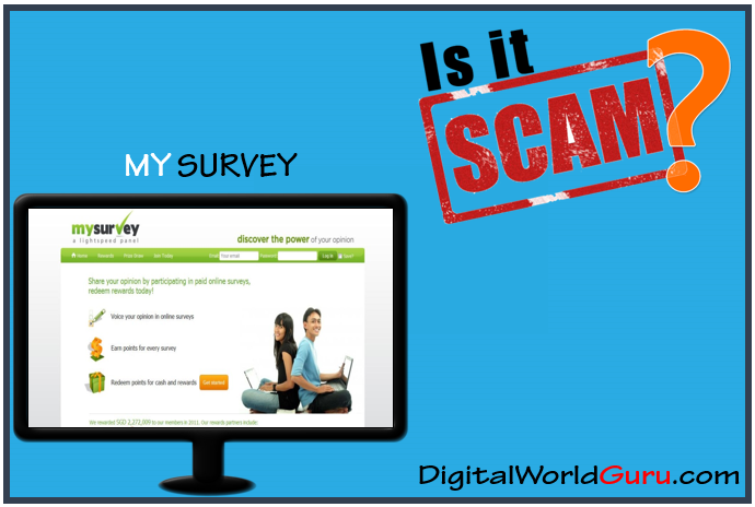 mysurvey a scam