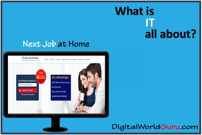 what is next job at home
