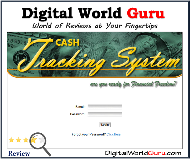Is cash tracking system scam