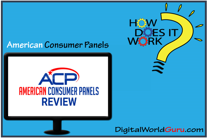 how american consumer panels works