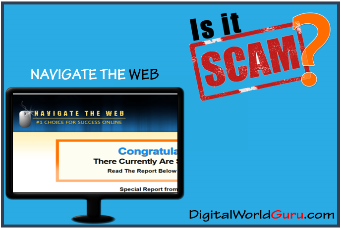 is navigate the web scam
