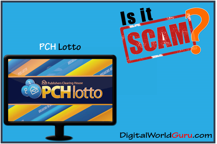 is pch lotto scam