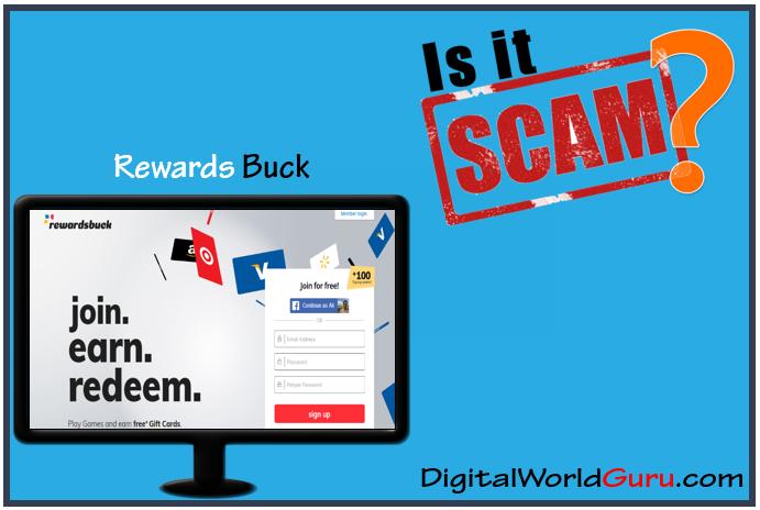 is rewards buck scam