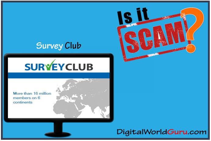 is survey club a scam