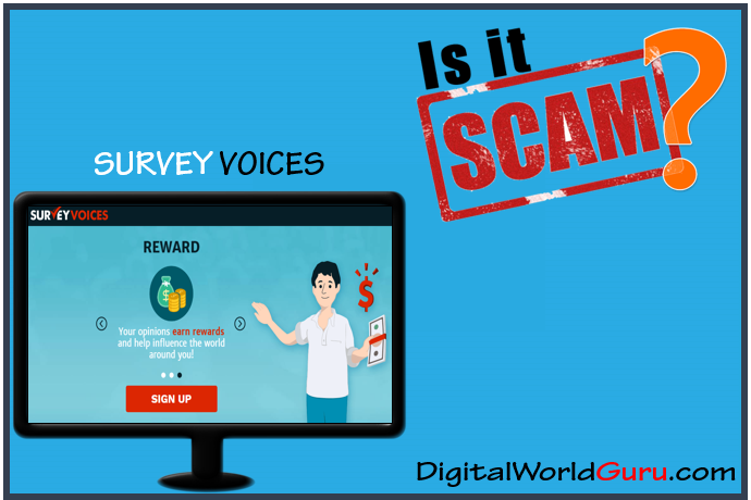 is survey voices scam