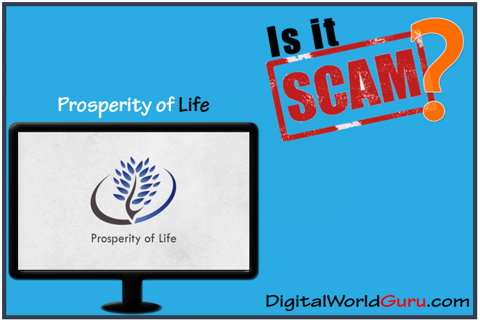 is the prosperity of life scam