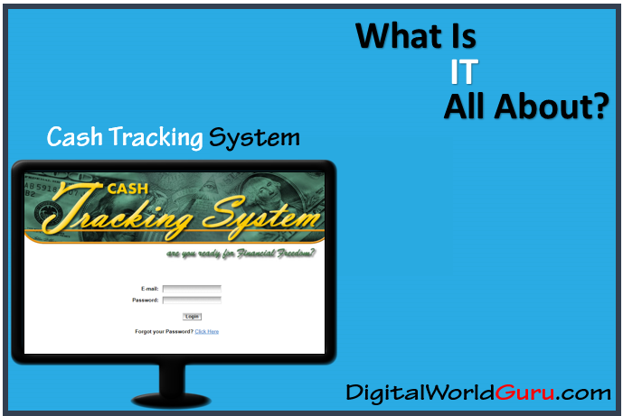 what is cash tracking system