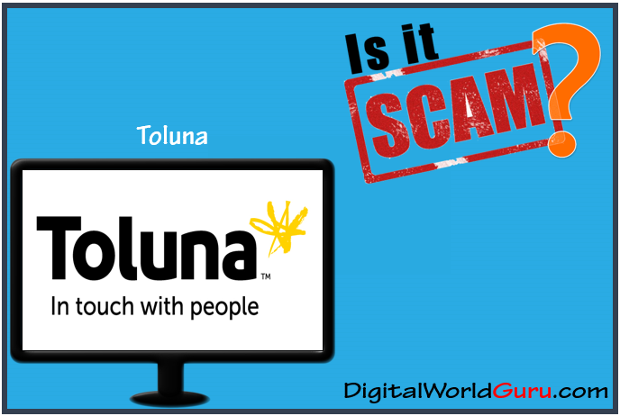 is toluna scam