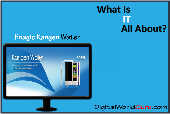 what is enagic kangen water