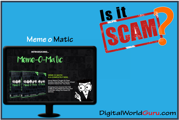 is meme o matic a scam