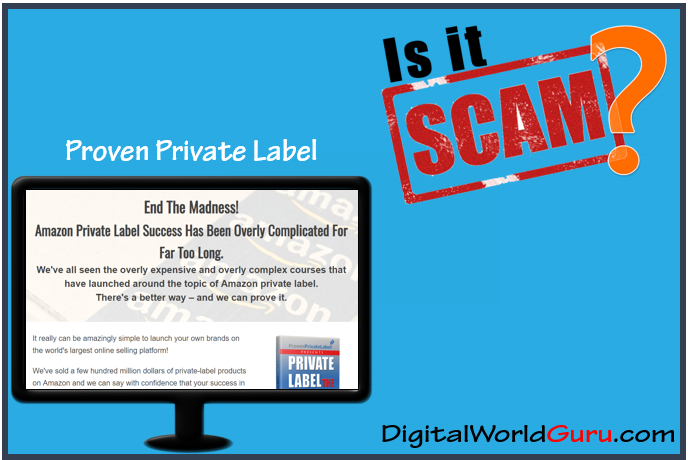 is proven private label scam