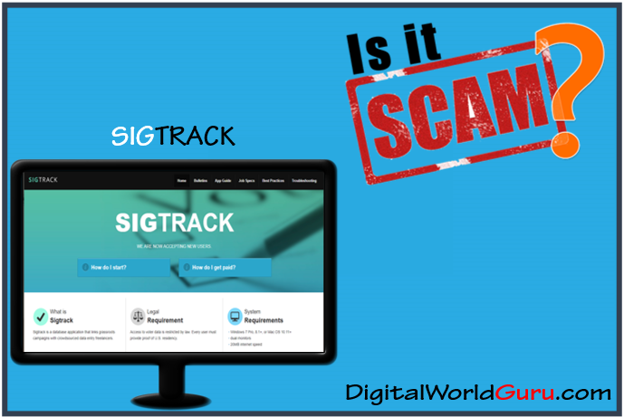 is sigtrack legit or not