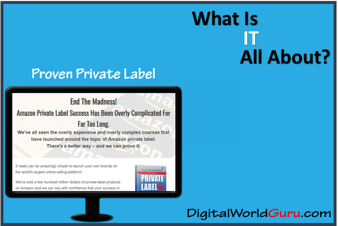 what is proven private label exactly