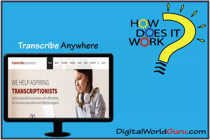 how transcribe anywhere works