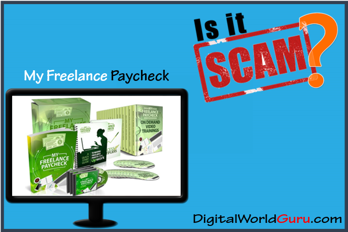 is the my freelance paycheck scam