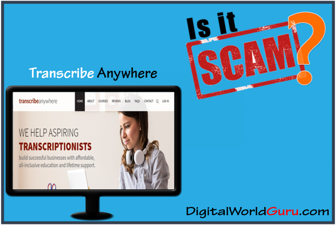 is transcribe anywhere scam