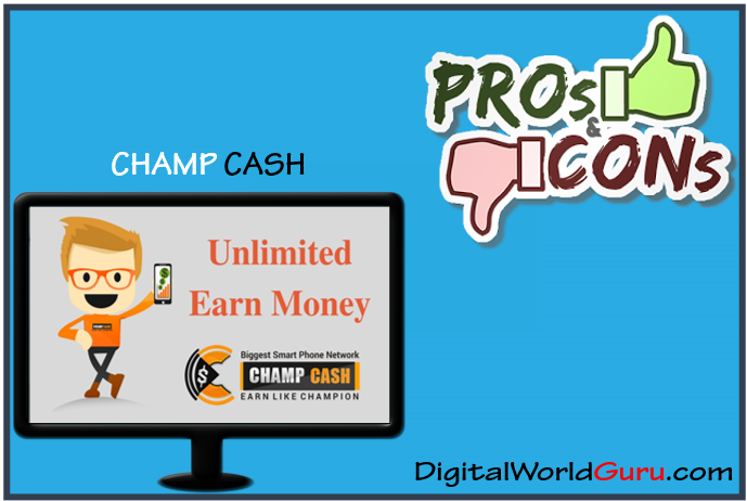 pros and cons champcash
