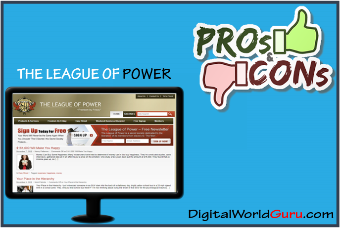 pros and cons league of power