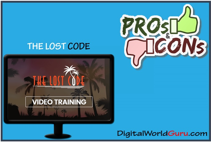 the lost code - pros and cons