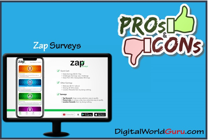 zap survey pros and cons