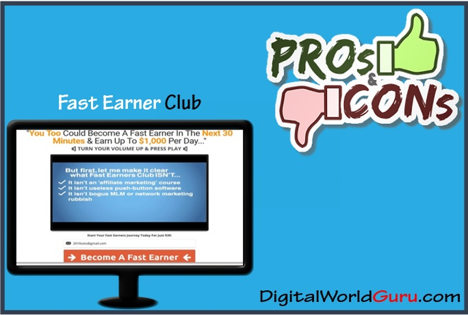 fast earner club pros and cons