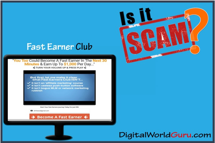 is the fast earner club scam